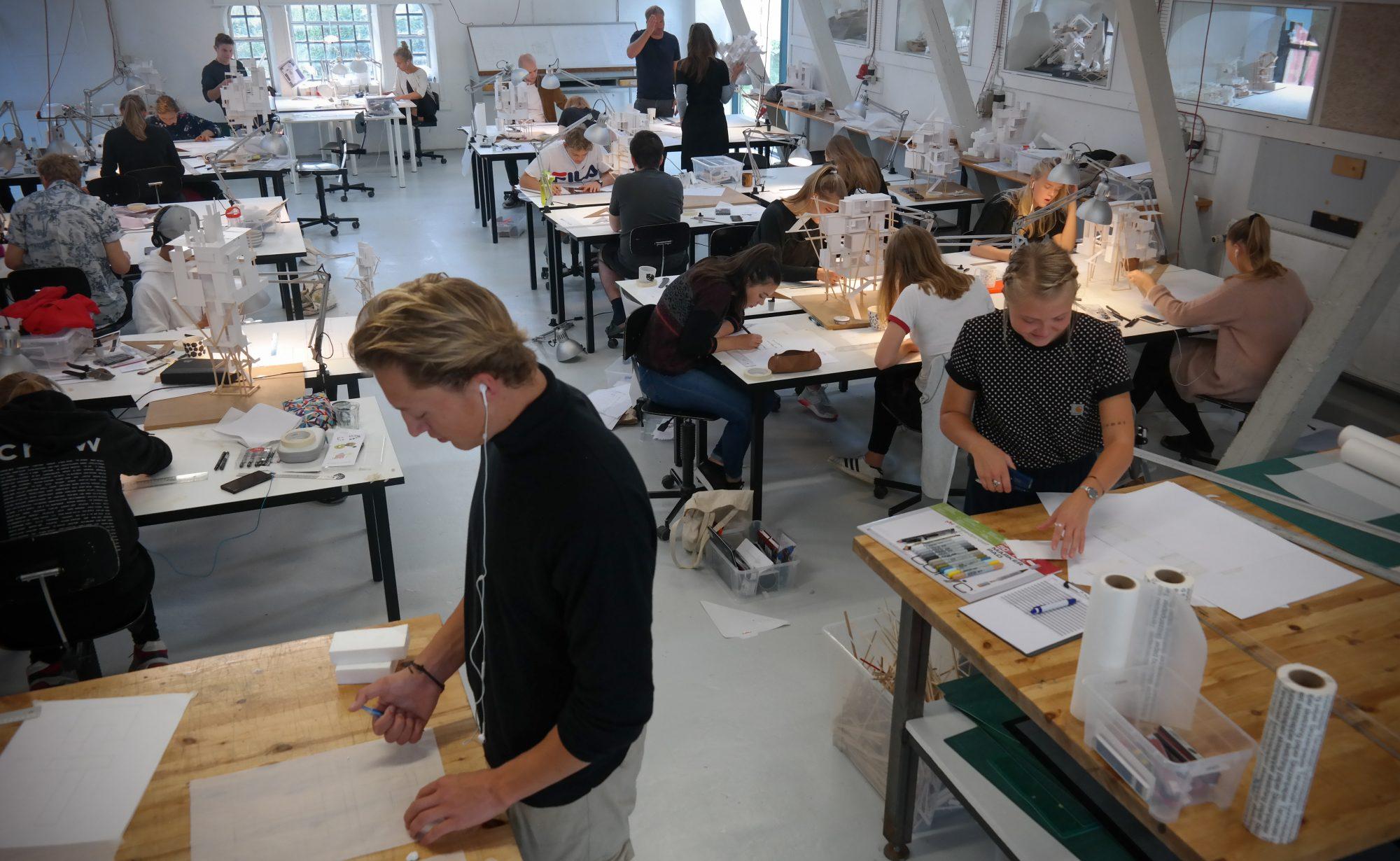 Værkstedet på Arkitektur & Bydesign